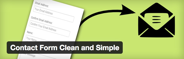 Contact Form Clean and Simple