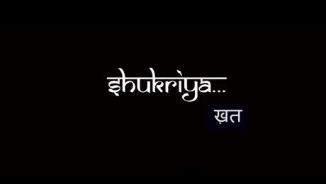 Shukriya Khat